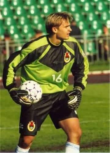 Сергей в форме ЦСКА